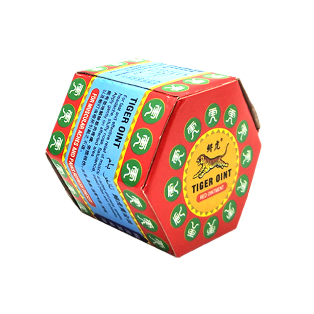 100% Original Red Tiger Balm Ointment Thailand Painkiller Ointment Muscle Pain Relief Ointment Soothe itch 19.5g 5