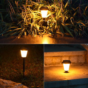 Outdoor Garden Lamp Solar Lawn Led Flickering Flame Torch Led Yard Patio Outdoor Decoration Solar Garden Lights image