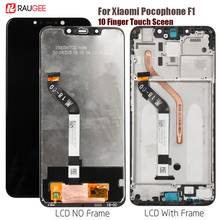 Display For Xiaomi Pocophone F1 Lcd Display Touch Screen Digitizer Replacement For Pocofone Pocophon Poco F1 Display Tested LCD