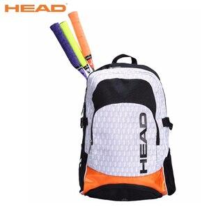 Original HEAD Tennis Bag Badminton Bag 2-3 Tennis Racket Backpack Sports Training Bags Squash Backpack Tenis Bags תיק מחבט טניס