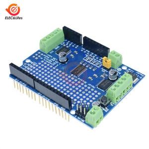 PCA9685 PWM щит серводвигателя TB6612 Mosfet шаговый двигатель V2 Стандартный IIC I2C для Arduino робота PWM Uno Mega R3 Замена L293D