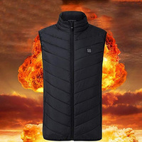 Thermal Vest for Men Autumn Winter Charging Body Heating Warm Vest Clothes Ideal for Work Air Skiing Last Intervention