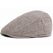 Women Men Hats 2020 Beret Caps Black Herringbone Newsboy Baker Boy Hats Tweed Flat Cap Mens Hat Winter Autumn Hats boinas