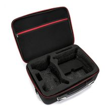 Nylon/PU Storage Bag Carry Case for DJI FPV Experience/Fly More Combo VR Glasses 3XUE