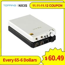 TOPPING NX3s Portable USB Headphone Amplifier OPA2140 IME49720 Mini HIFI Headphone Amp Audio 3.5MM TOPPING NX3