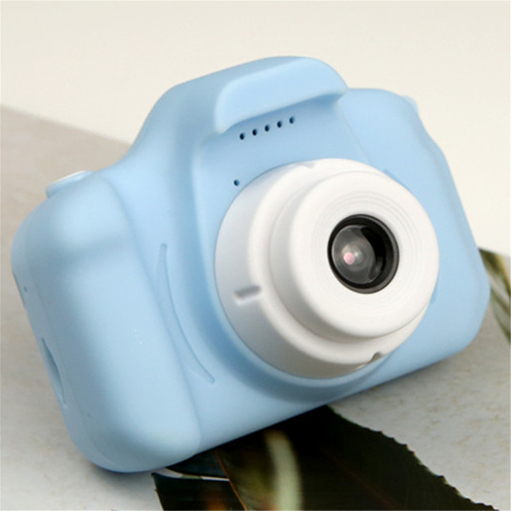 Hf07af79d52444ec88ee206fb9fe345e4J HD Screen Chargable Camera Outdoor Digital Mini Camera Kids Cartoon Cute Camera 2 Inch Photography Props For Child Birthday Gift