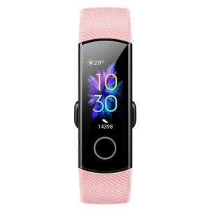 Image 4 - Original Huawei Honor Band 5 sang oxygène Amoled écran tactile détecter nager Posture fréquence cardiaque sommeil Snap Bracelet intelligent