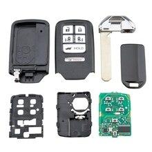 5+ 1 кнопка 313,8 МГц подходит для Honda Odyssey БЕСКЛЮЧЕВОЙ умный дистанционный ключ-брелок от машины
