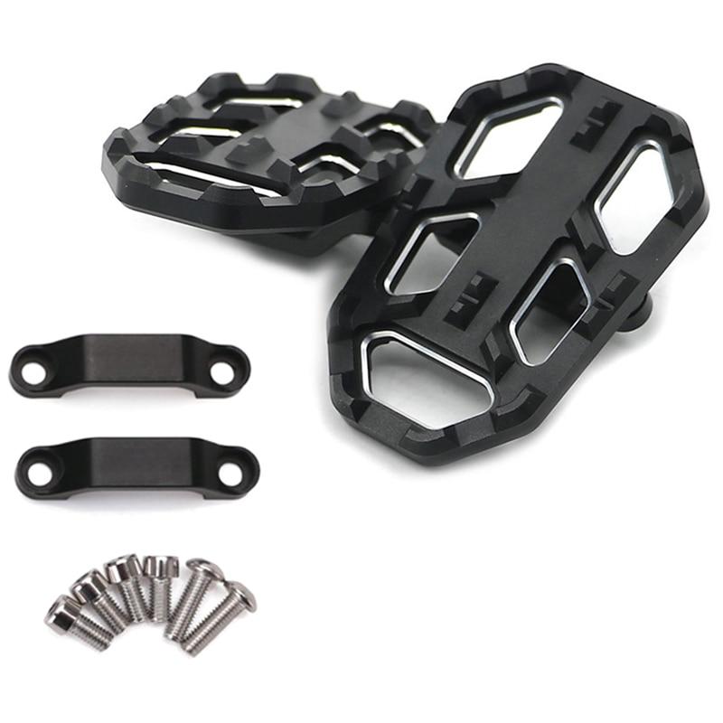 For Honda Nc700X Nc700S 2012-2014 And Nc750X Nc750S 2014-2018 Cnc Aluminum Motorbike Foot Pegs Footpegs Footrests(Black)