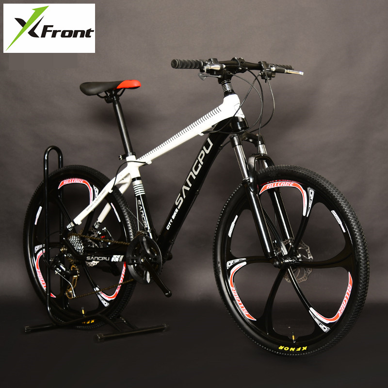 New Brand Aluminum Alloy Frame 26 Inch Wheel 27/20 Speed Mountain Bike Outdoor Sports Dual Disc Brake MTB Bicycle