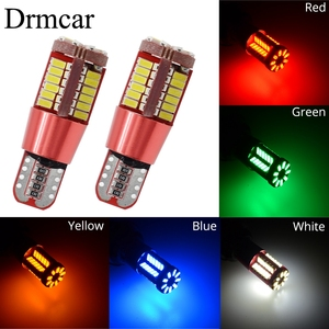 T10 W5w Car Led 168 192 57SMD 3014 Trunk Lamp CANBUS Auto Wedge Marker Light Turn Signal Bulb Clearance Lamp License Plate Light