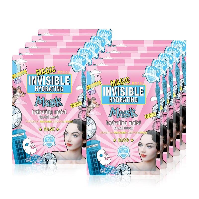 HEMEIEL Hyaluronic Acid Korean Face Mask Depth Replenishment Hydrating Moisturizing Whitening Skin Care Remove Wrinkle Blackhead