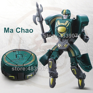 Image 2 - WJ LUBO Action Figure Toys Chess Chaft Romance of the Three Kingdoms Deformation Transformation
