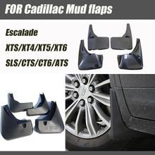 For Cadillac ATS CT6 CTS SLS SRX XTS XT4 XT5  Escalade mudguards mud flaps splash guards car fenders car accessories 2007-2020 for cadillac srx mudguards cadillac mud flaps srx splash guards fenders car accessories auto styling 2009 2015