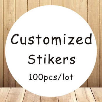 Custom Round Stickers - Labels Clear Logo From 3c to 10cm