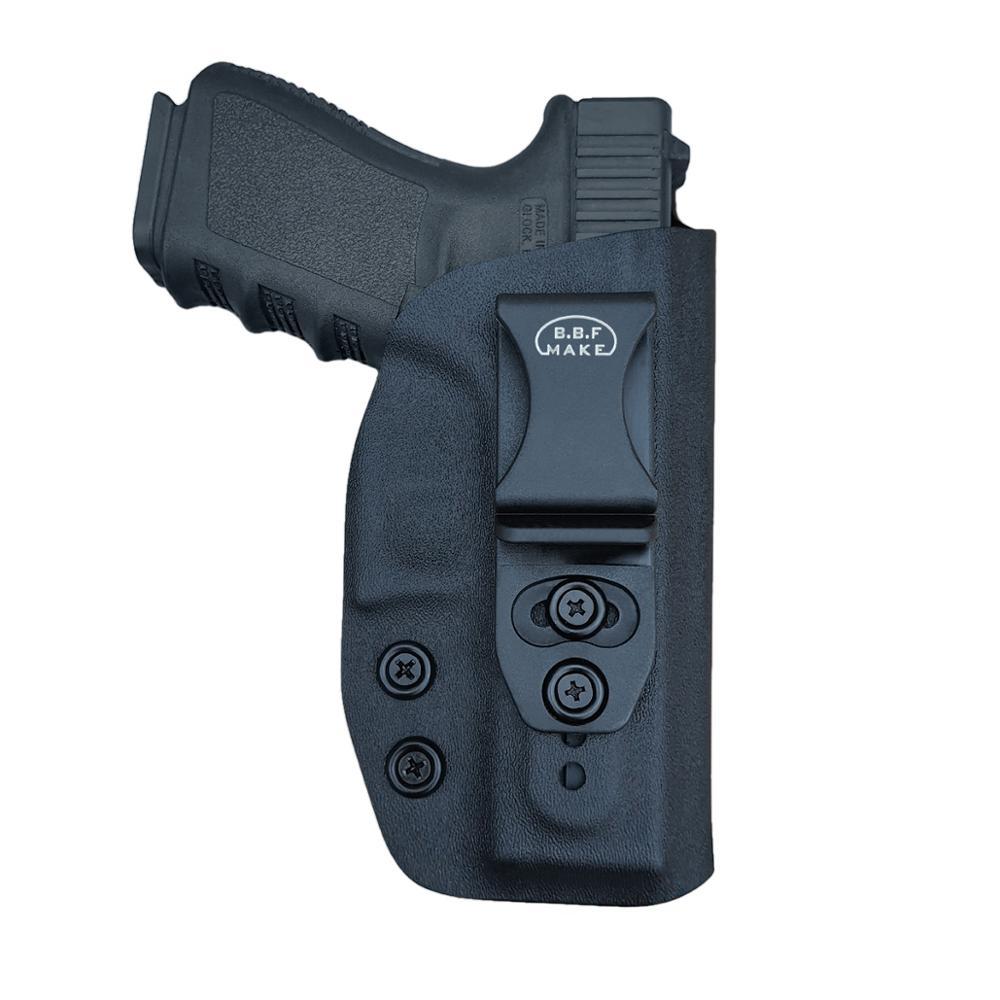 BBF faire IWB KYDEX étui Glock 19 19X23 25 32 Cz P10 étui à pistolet ceinture porter étui dissimulé Glock 19 étui à pistolet