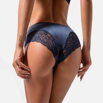 Seamless Breathable Hollow Briefs Sexy Women Lingerie Lace side Underwear Solid Color Woman Nylon Low Rise Lingerie Sexy Panties dewvkv hot sale sexy lace panties soft breathable briefs women underwear ladies low rise lingerie solid g string brief