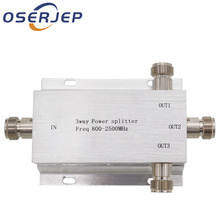 3 sposób N 1 w/do 3 dzielnik mocy Splitter 380 ~ 2500MHz dla GSM CDMA sygnał 3G booster, połączyć się z antena wewnętrzna antena zewnętrzna