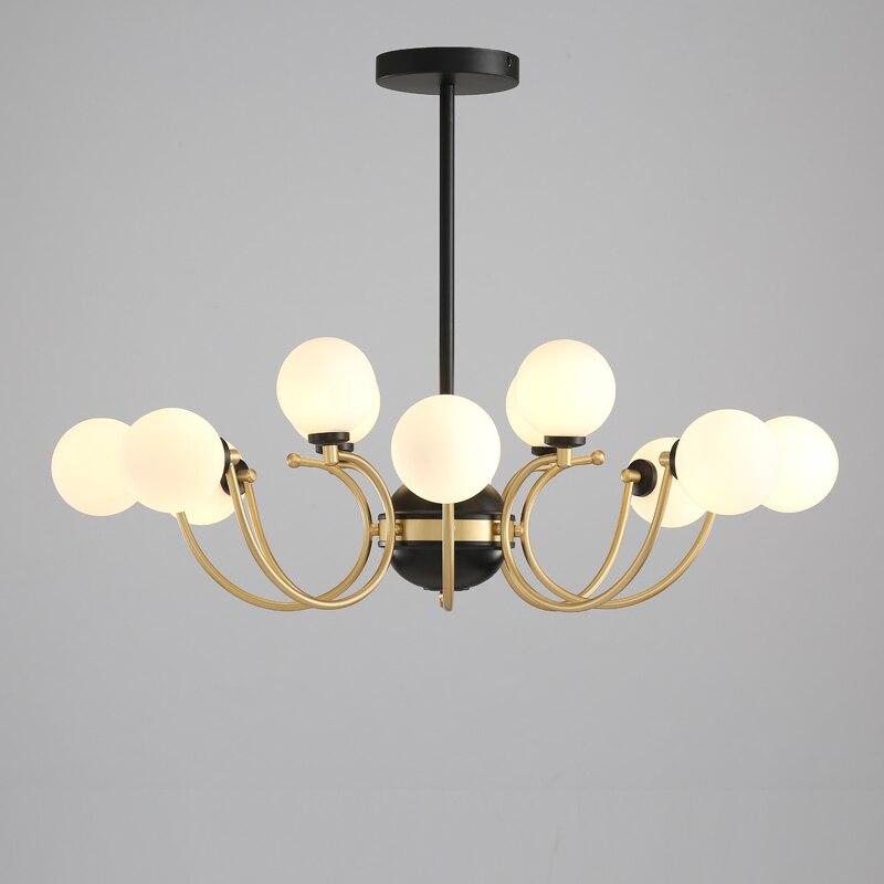 Modern Lustre Pendente Iron LED  Pendant Lights Home Decoration E27 Light Fixture  Restaurant  Hanglamp Lustre Pendente