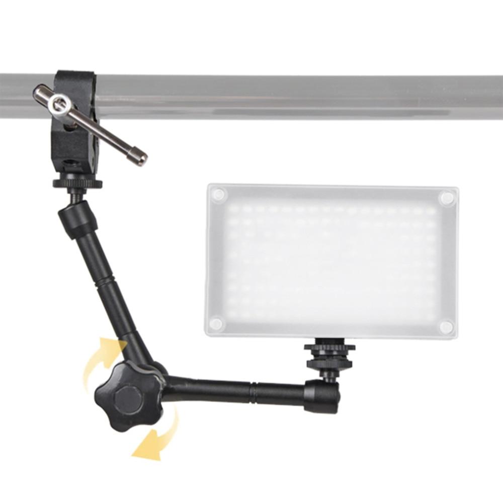 "11/"" Articulación brazo Mágico//Super Cangrejo Pinza Alicates Clip para Cámara Monitor LCD"