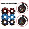 Scooter Waterproof for Xiaomi M365/1s/pro2 Front Wheel Sticker Scooter Accessories Shell Kick Motor Protective Cover
