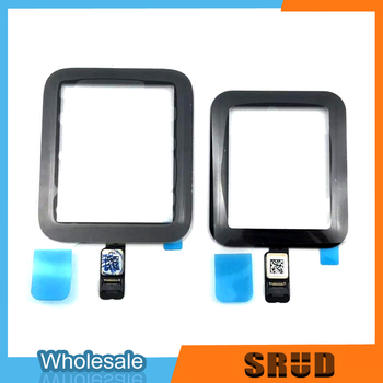 38mm 42mm touch screen digitizer glass lens panel for apple watch series 2 series 3 38mm 42mm touchscreen repiar parts Touch Screen Digitizer Glass For Apple Watch series 2 3 38mm 42mm Series 4 40mm 44mm LCD Touch Screen Repiar parts
