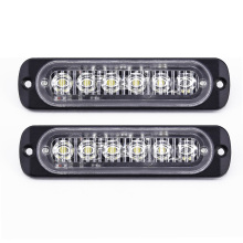 цена на Car 6 LED Daytime Running Light DRL Daylight Fog Lamp Day Lights DC 12V-24V