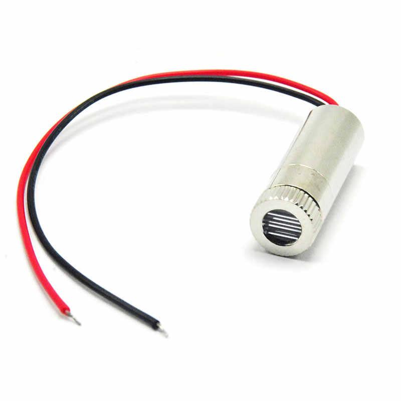 405nm 10mW violeta/púrpura línea azul láser diodo módulo DC3V-5V Lazers w cabeza focable