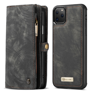 Image 5 - For iPhone 12 Pro SE 2020 6 6s 7 8 Plus XS Max XR 10 X XS Wallet Case Zipper Flip Leather Cover For iPhone 11 Pro Max Phone Case
