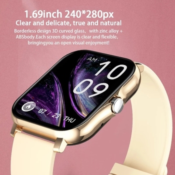 2021 Women Smart Watch Men Full touch Sport Fitness Tracker Bluetooth Call Smart Clock Ladies SmartWatch Women For Android IOS 2
