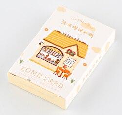 L57-поздравительная открытка Happy street (1 упаковка = 28 штук)