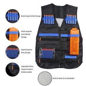 28 шт., окончательный тактический жилет-Кобура, ремешки для напульсников, набор для напульсников Nerf-Guns N-Strike Elite, детские подарки для детей