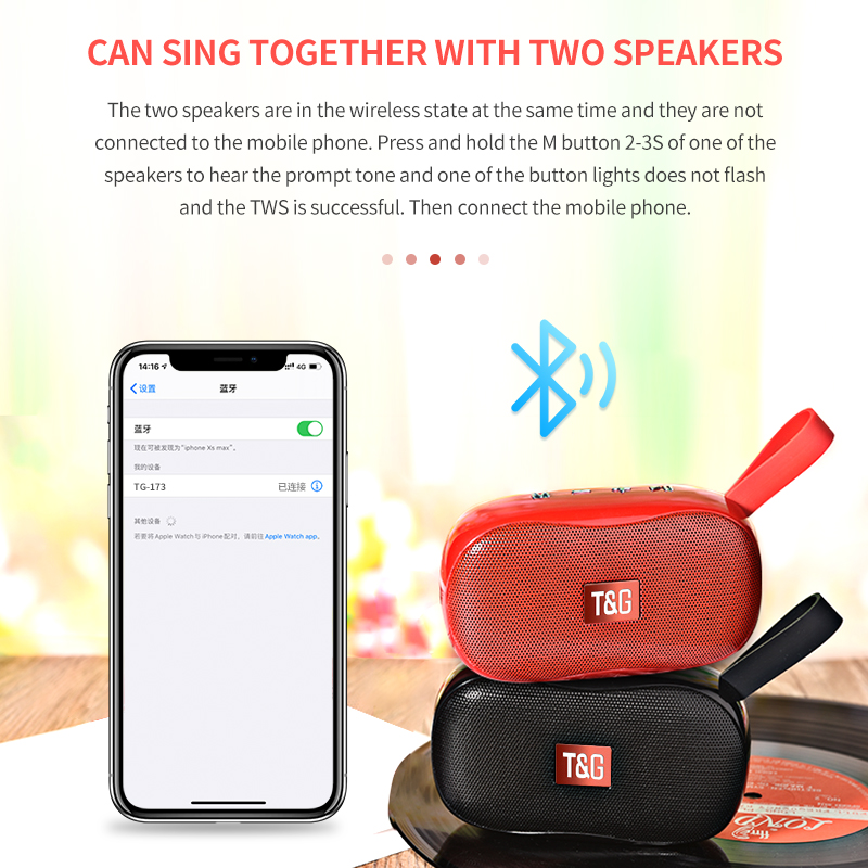 Portable Wireless Small Speaker Bluetooth Speakers Wireless Devices CoolTech Gadgets free shipping  Activity trackers, Wireless headphones