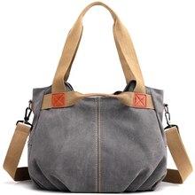 Style dhiver femmes toile sac dames main bandoulière sacs pour femmes de haute qualité femme lambrissé Hobos sac à bandoulière Totes Bolsas