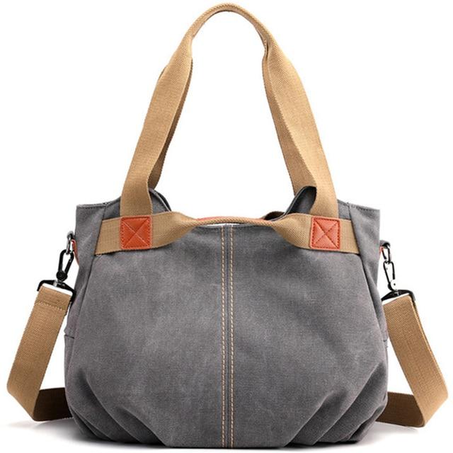 Winter Style Women Canvas Bag Ladies Hand Crossbody Bags For Women High Quality Female Panelled Hobos Shoulder Bag Totes Bolsas