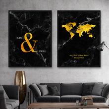 Vintage Abstract Golden Map canvas wall poster Unique world map print canvas painting wall art for living room  poster and print vintage abstract print jeggings