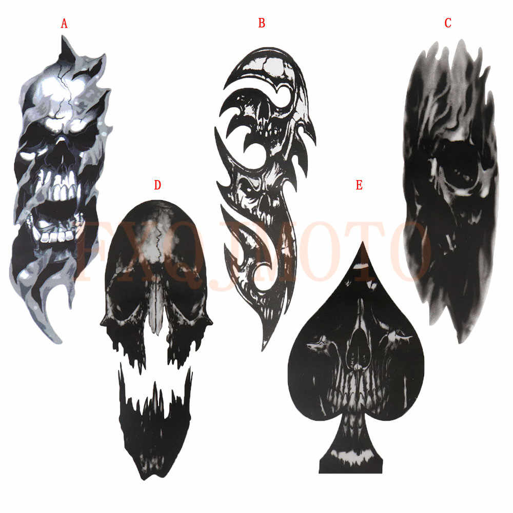 Fork Skull Decals for Harley All model Sportster Softail  Touring Fatboy