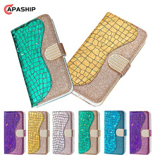 Colorful Diamond Leather Flip Case For Samsung