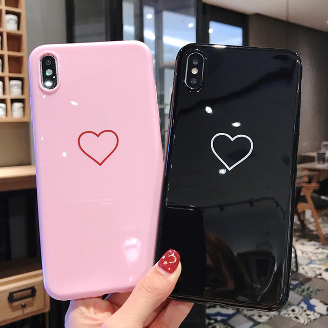 Silicone Feather Patterned Case for iPhone