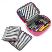 Kawaii Cartridges School Pencil Case 72 Holes Penal for Girls Boys Pen Bag School Supplies Kit Box Large Pencilcase Stationery