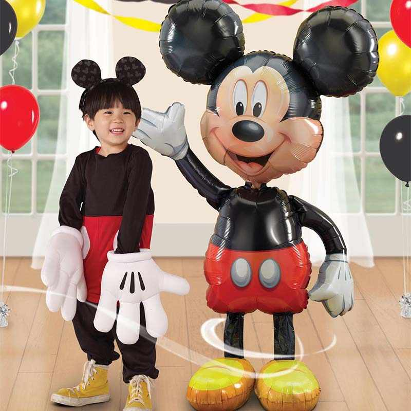 114Cm Giant Mickey Minnie Mouse Ballon Cartoon Birthday Party Folie Ballon Kinderen Birthday Party Decoraties Kids Toy Gift