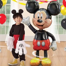 Balloon Cartoon Mouse Globos Birthday-Party-Decorations Foil Mickey Minnie Inflatable