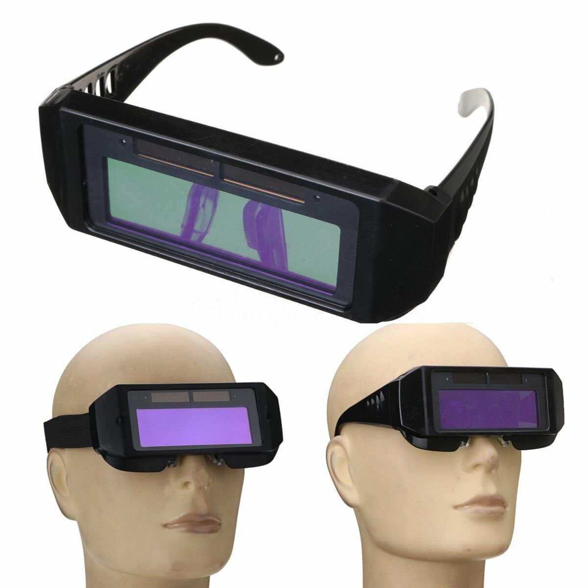Auto Darkening Welding Mask Helmet Goggle Welders Glasses Arc PC Goggles Autos Shades For Welding Protection