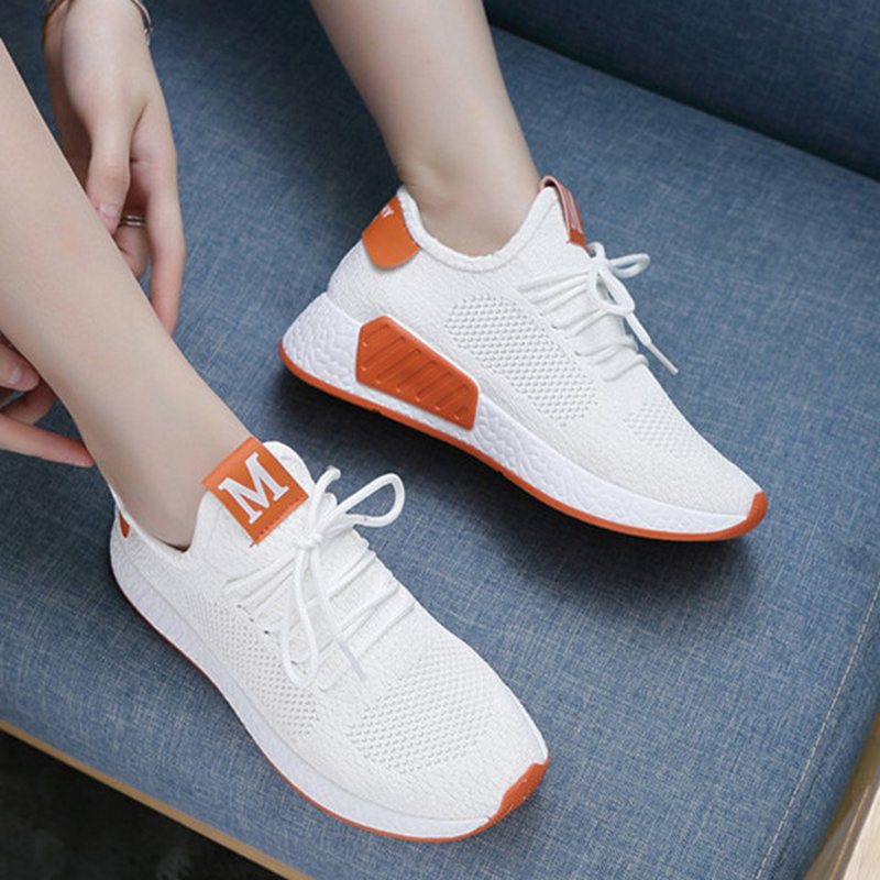 Lightweight Comfortable Lace-up Women's Shoes New Fashion Mesh Women's Vulcanize Shoes Casual Sneakers Zapatos Mujer VT657 (5)