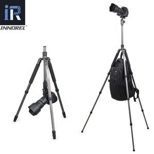 Image 4 - NT40C מקצועי סיבי פחמן חצובה חדרגל Stand כדור ראש עבור דיגיטלי DSLR מצלמה אור גבוהה באיכות מעיים עבור GoproTripode