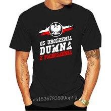 2020 Hot Sale Fashion DUMNA Women's Patriotic T-shirt Poland Polish T Shirt Tee Shirt