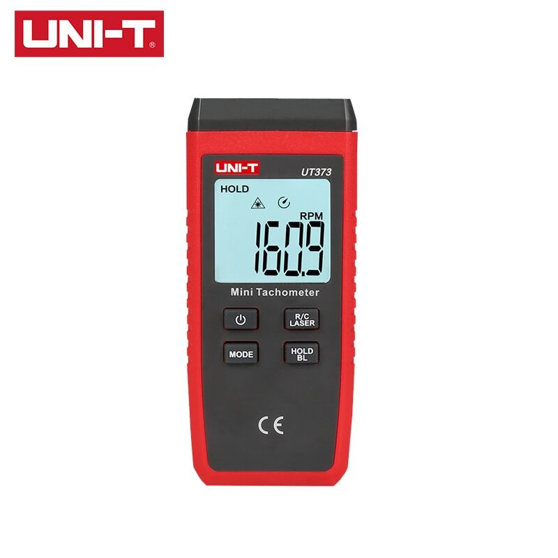 UNI-T UT373 Mini Digital Laser Non-Contact Tachometer Measuring Range 10-99999RPM Tachometer Odometer Overload Indication