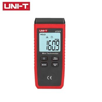 UNI-T UT373 Mini cyfrowy Laser bezdotykowy obrotomierz zakres pomiarowy 10-99999RPM obrotomierz przebieg przeciążenie wskazanie tanie i dobre opinie
