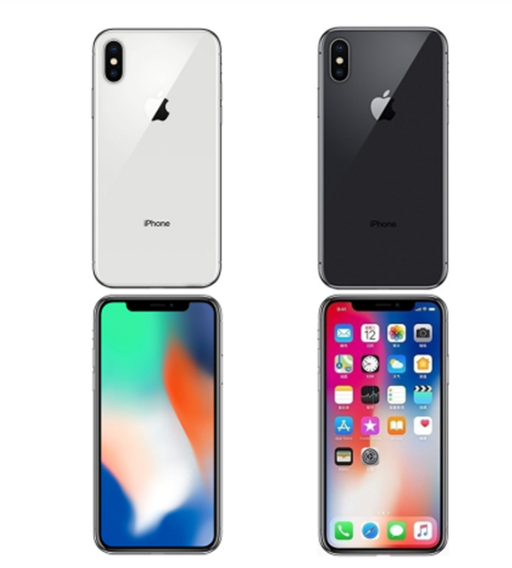 "Apple iPhone X 5.8"" IOS RAM 3GB ROM 64/256GB Face ID A11 Bionic 4G LTE Hexa Core 12MP Original Unlocked Smartphone Cell Phone 4"