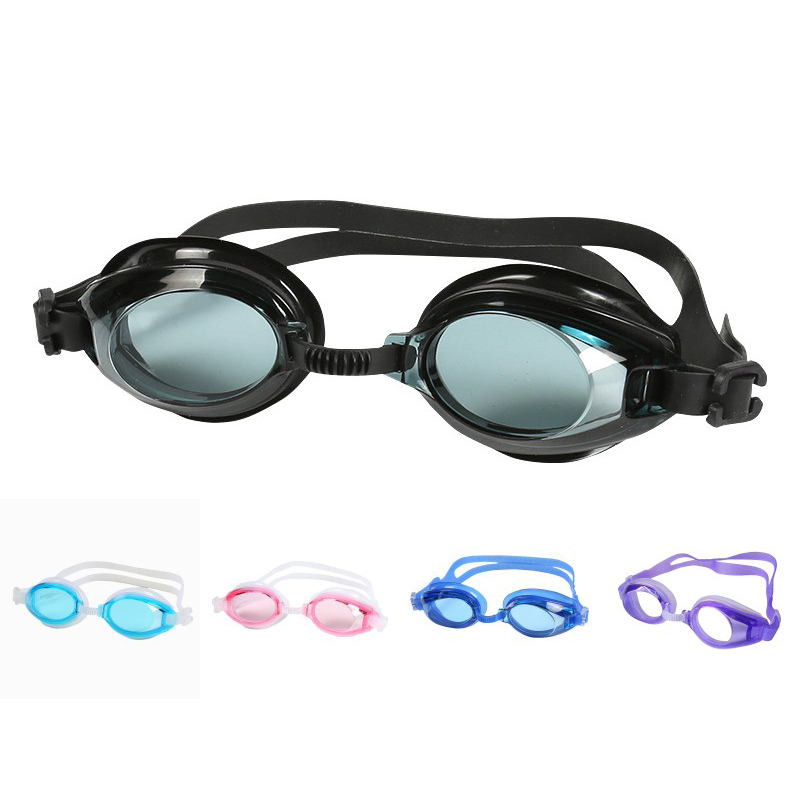 New Children Kids Outdoor Swim Pool Anti Fog Swimming Goggles Glasses Eyewear Swiming Accessories For Boys Girls With Earplugs